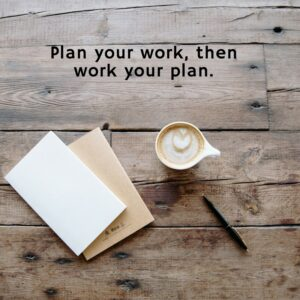 Do you have a written plan to move your dream forward?